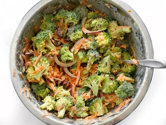 Stir Broccoli Salad