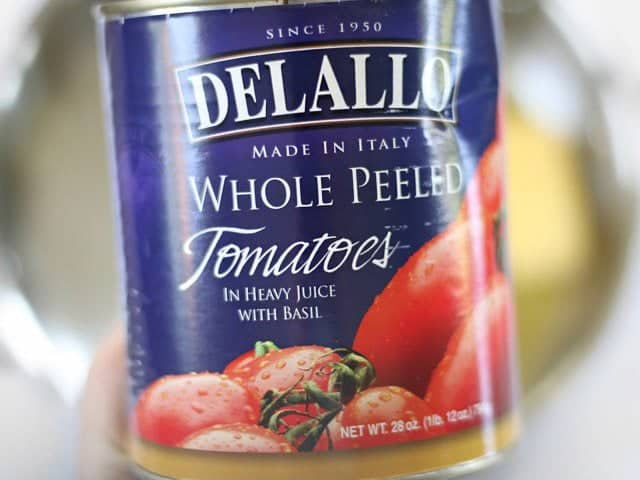 Can of Whole Peeled Tomatoes