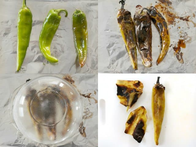 Roast Hatch Chiles