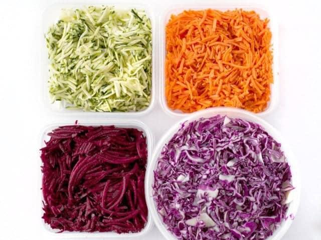 Food Processor Shred Vegetables