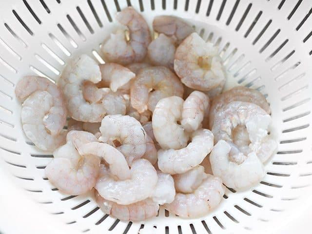 Thaw Shrimp