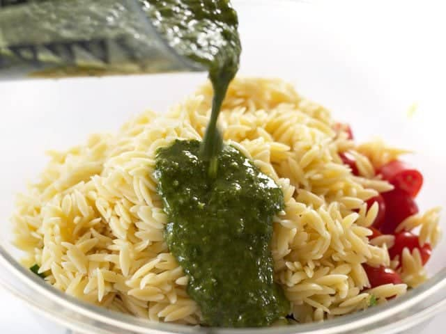 Vegetables Orzo Chimichurri
