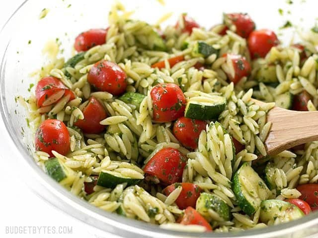Orzo And Zucchini Salad Recipe — Dishmaps