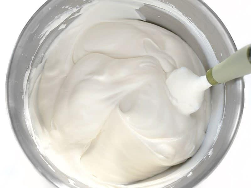 Fully Folded Cream and Condensed Milk