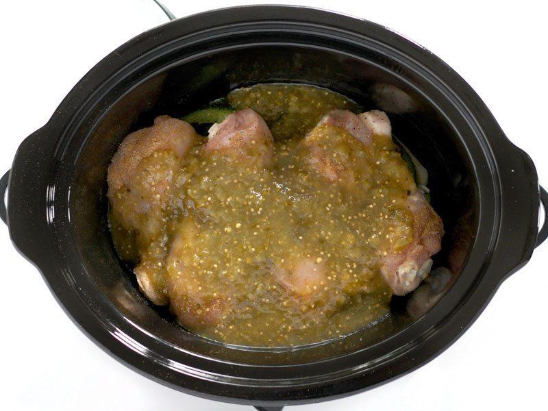 Salsa Verde Chicken Ready to Cook