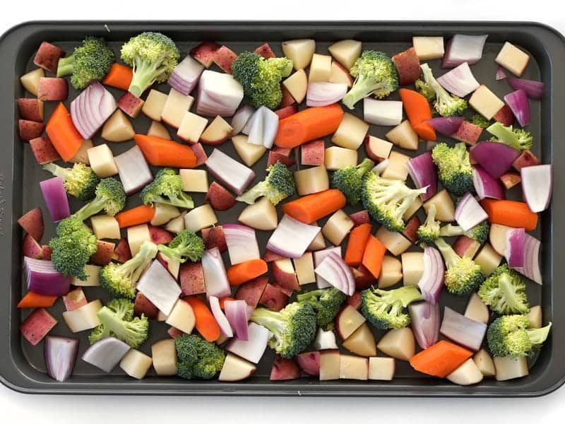 Chopped Vegetables