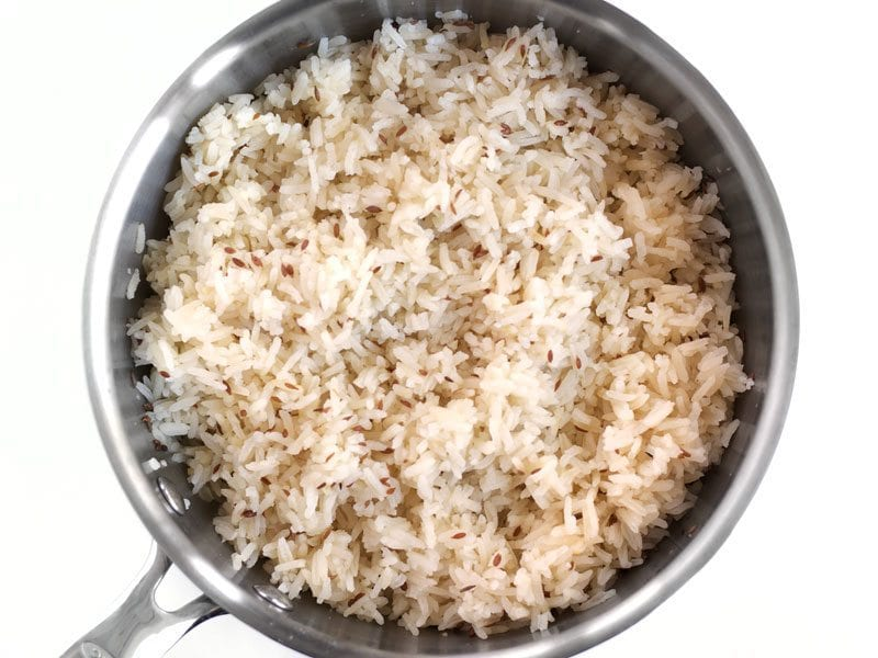 Fluffed Cumin Rice