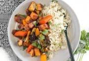 Harissa Roasted Vegetables