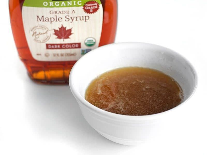 Brown Butter and Maple Syrup