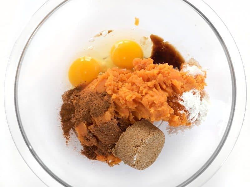 Sweet Potato Eggs Spices
