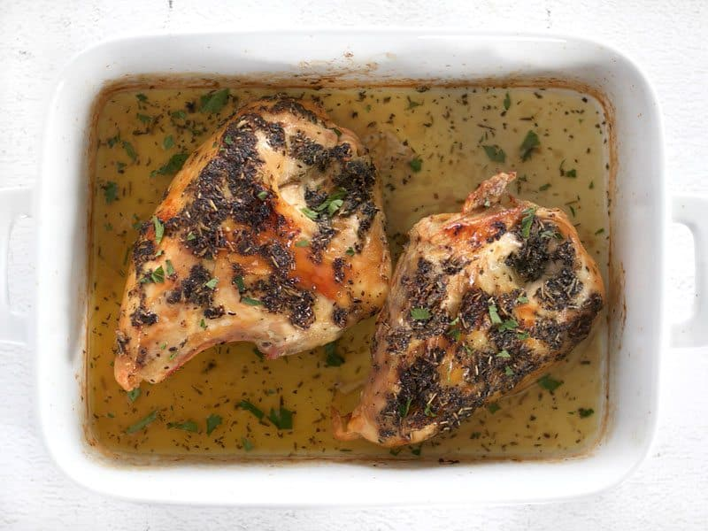Herb Roasted Chicken Breasts 425