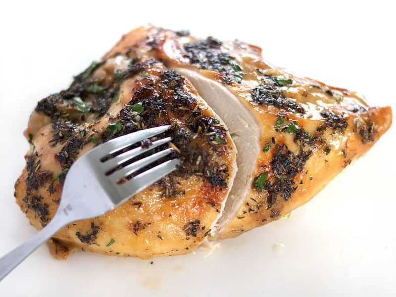 Herb Roasted Chicken Breasts open