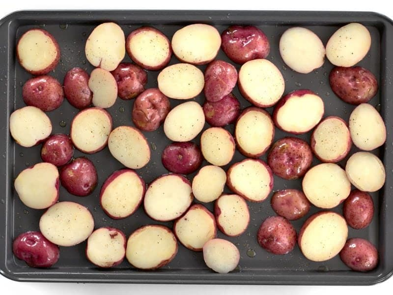 Potatoes Ready to Roast