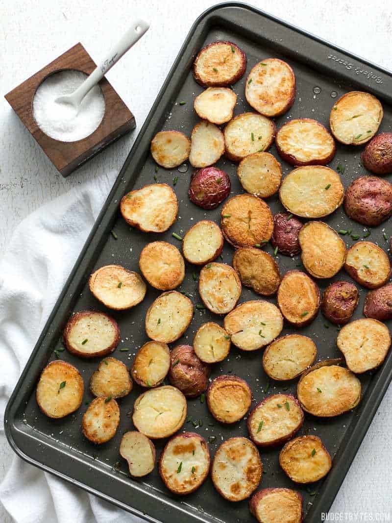 Salt & Vinegar Roasted Potatoes with Smoky Garlic Mayo