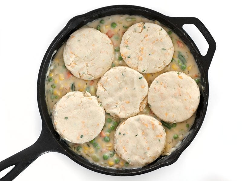 Skillet Pot Pie Ready to Bake