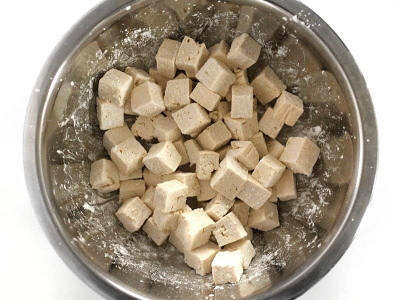 Tofu with Cornstarch