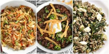 3 Low Carb Beef Recipes to fit small budgets. BudgetBytes.com