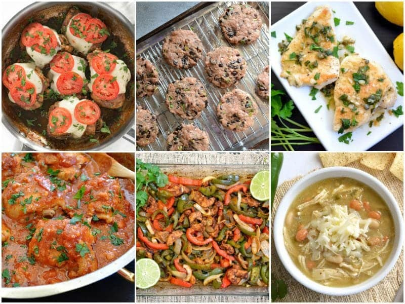 6 Low Carb Chicken Recipes to fit small budgets. BudgetBytes.com