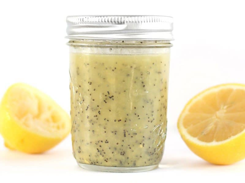 Lemon Poppy Seed Dressing