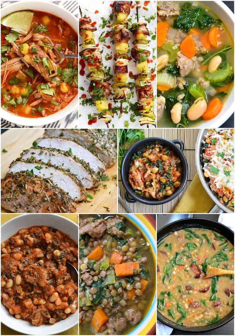 8 Low Carb Pork Recipes to fit small budgets. BudgetBytes.com