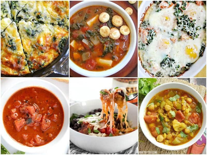6 Low Carb Vegetarian Recipes to fit small budgets. BudgetBytes.com