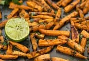 Cumin Lime Roasted Sweet Potatoes