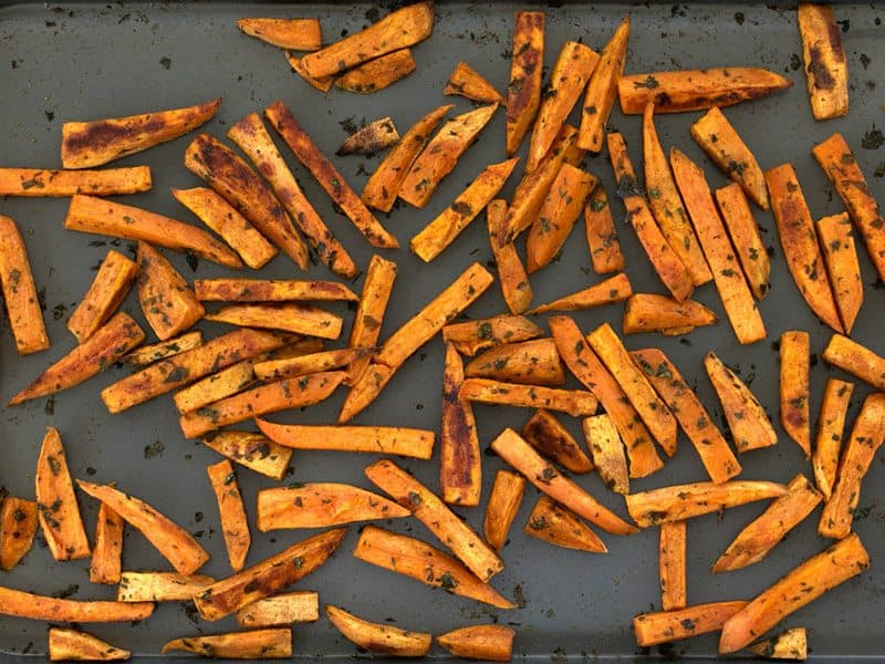Roasted Cumin Sweet Potatoes