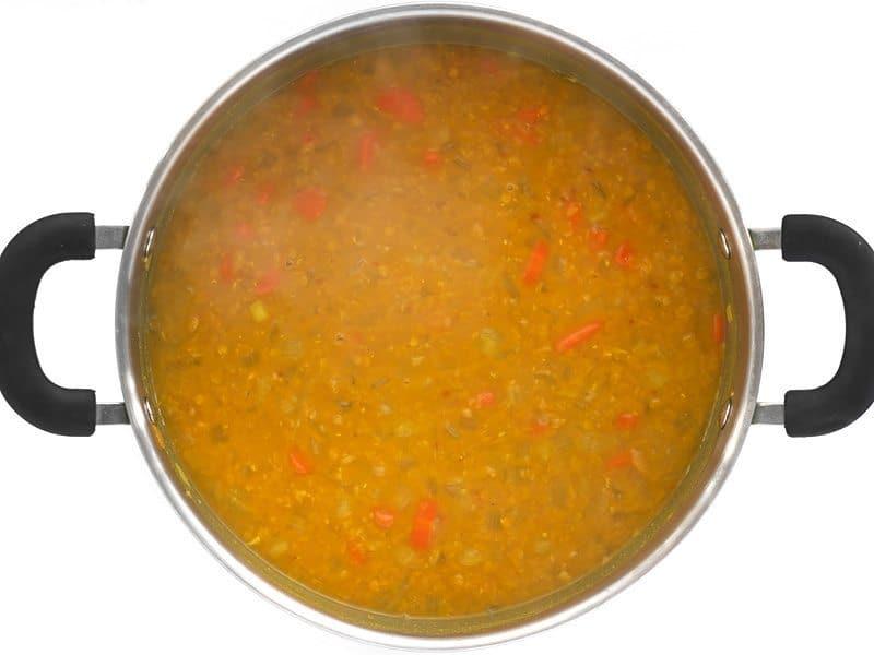 Simmered Lentil Soup