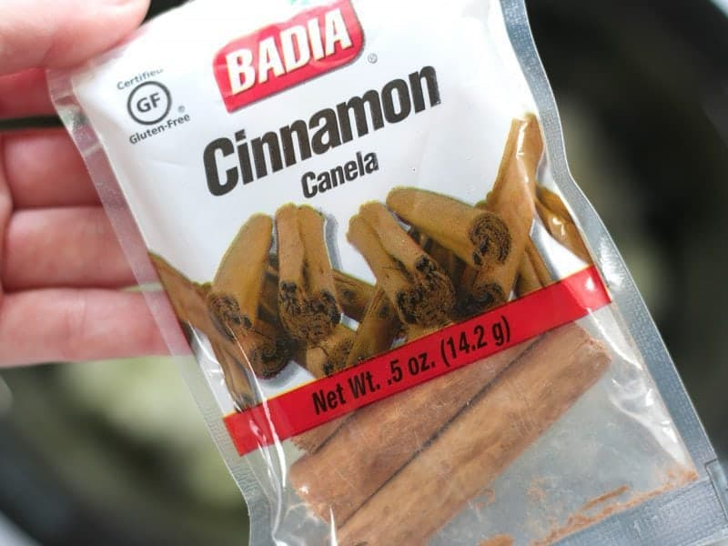Cinnamon Sticks in the package