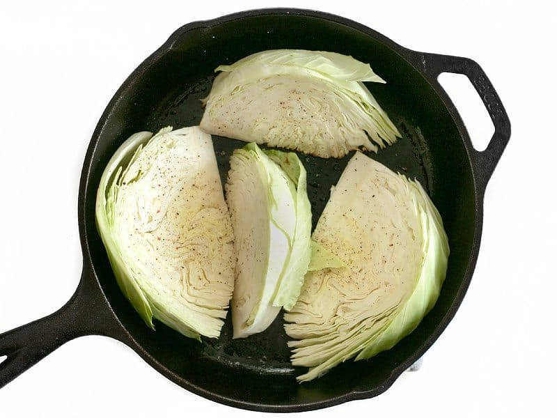 Sear and Season Cabbage