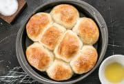 Buttermilk Pull-Apart Rolls from Bread Toast Crumbs