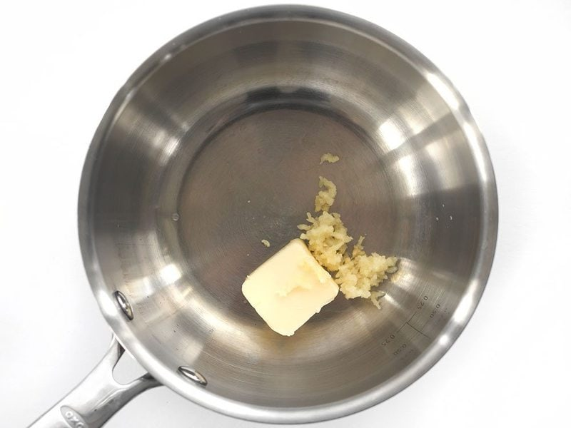 Garlic and Butter for Sauce