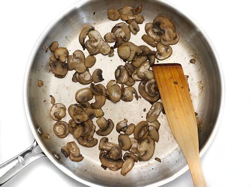 Sauté Mushrooms and Garlic