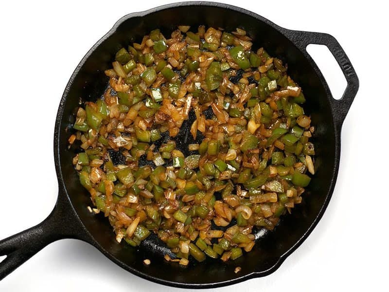 Sauté Onion and Bell Pepper