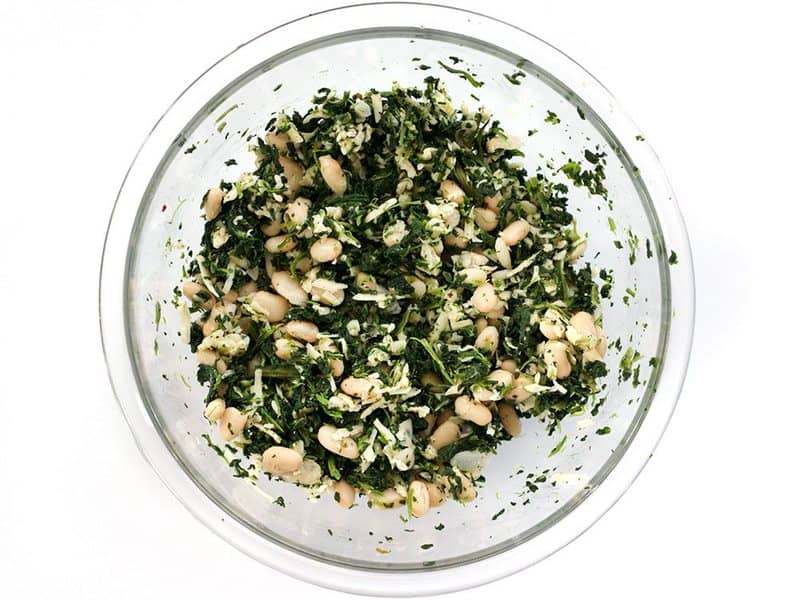 Spinach White Bean Mix