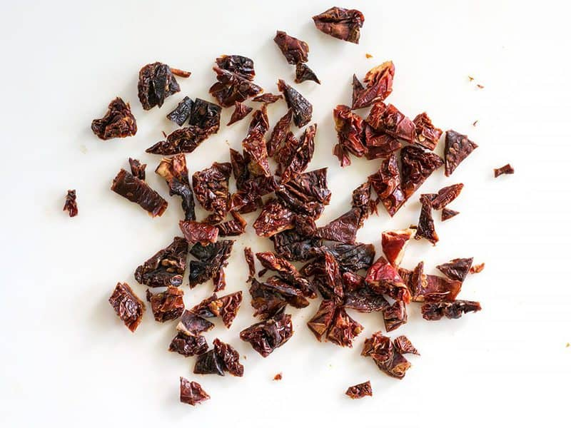 Chopped Sun Dried Tomatoes