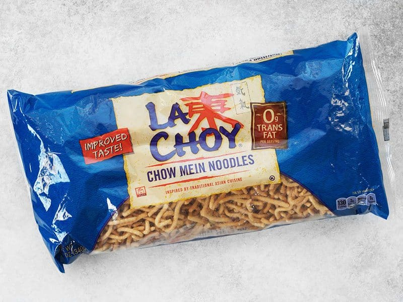 Chow Mein Noodles package