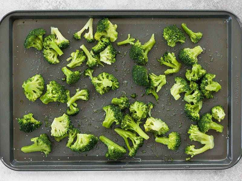 Frozen Broccoli Florets ready to roast