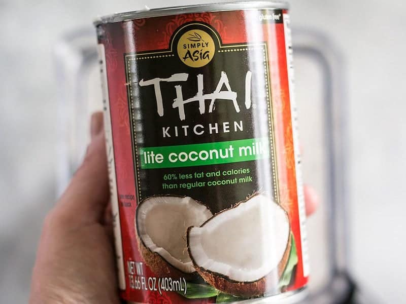 Can of Lite Coconut Milk