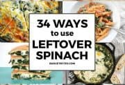 34 Ways to Use Leftover Spinach