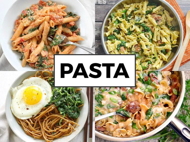 Spinach Pasta Dishes