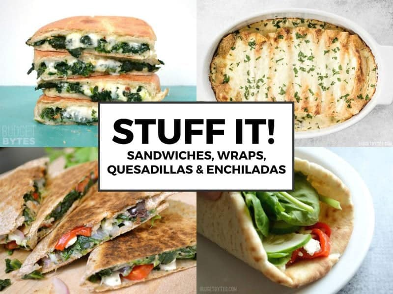 Stuff It Spinach Ideas