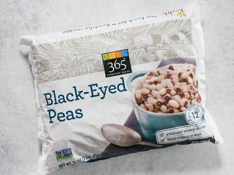 Frozen Black Eyed Peas bag
