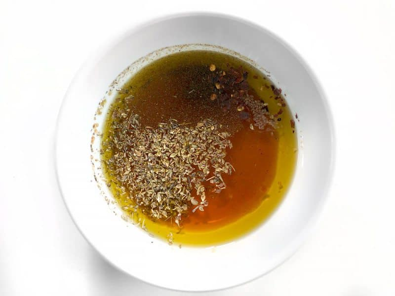 Chimichurri Oil Vinegar and Herbs