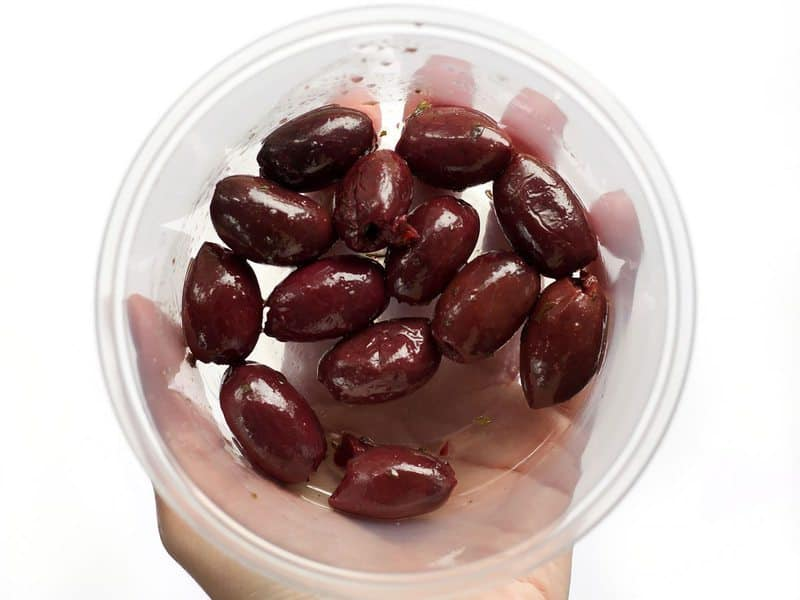 Kalamata Olives for Greek Turkey and Rice Skillet