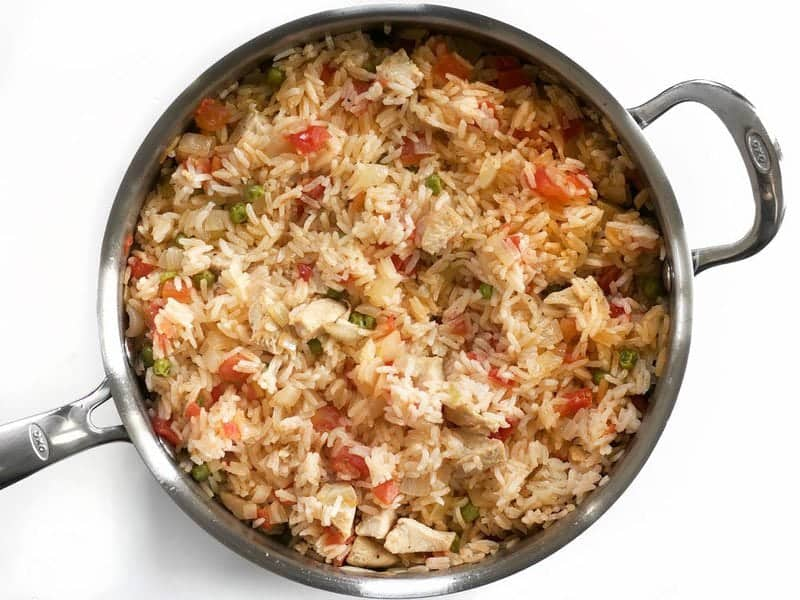 Simmered Rice and Chicken