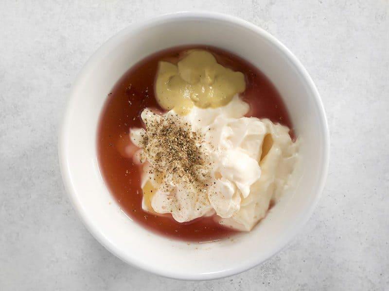 Coleslaw Dressing Ingredients