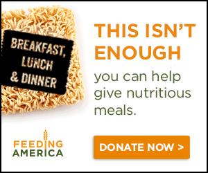 Feeding America Donation Banner