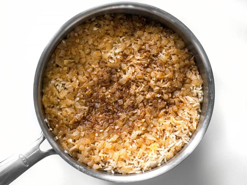 Cooked Taco Rice