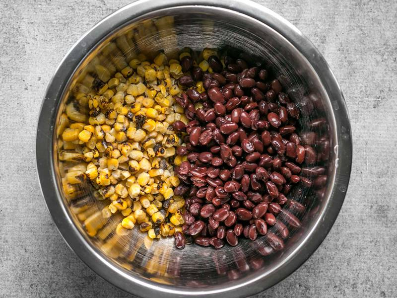 Corn and Black Beans for meal prep